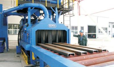 Rozbudowa i unowocześnienie działu produkcji konstrukcji stalowych